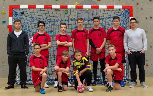 Cliquez pour afficher les photos de l'équipe des garçons -15 ans de la JA Isle Handball