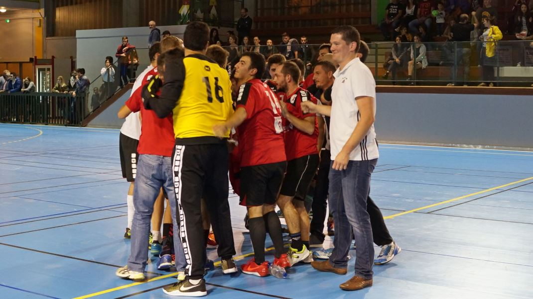 premier tour de la Coupe de France masculine - victoire JA Isle Handball
