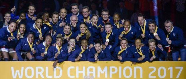 2017 équipe de France féminine championne du monde
