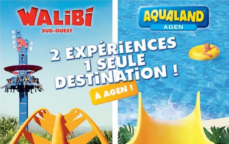 Sortie aux parcs Walibi et Aqualand à Agen