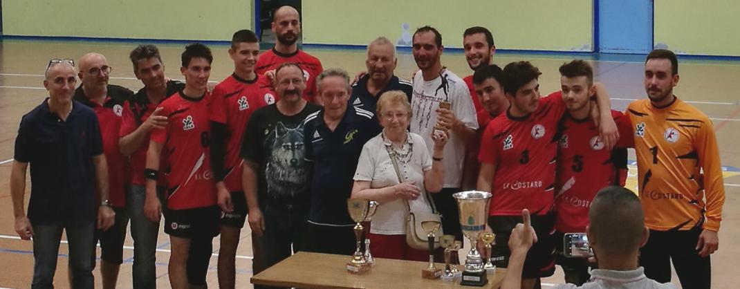 La JA Isle Handball remporte le tournoi du CAPO Limoges