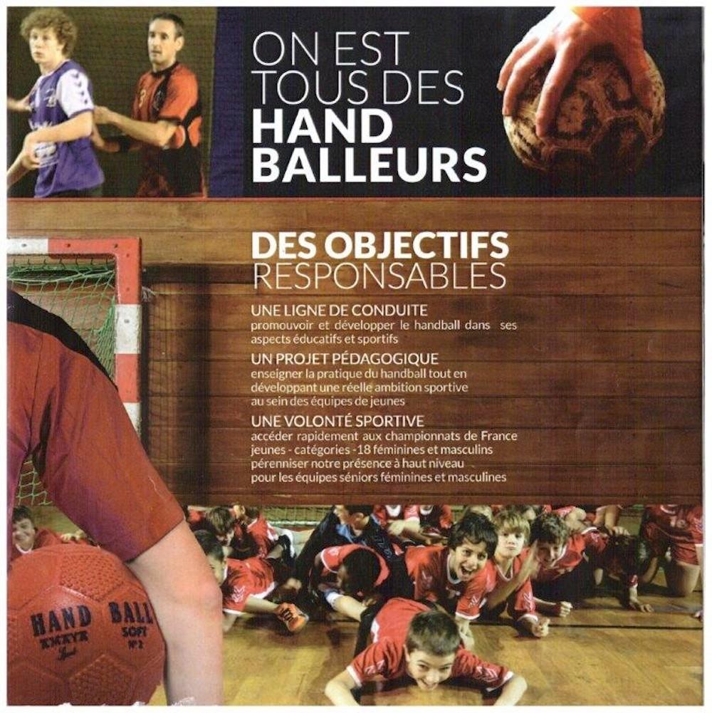 Plaquette JA Isle Handball - on est tous handballeurs