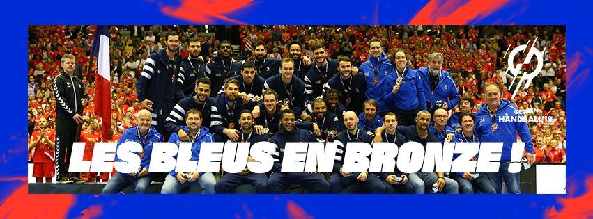 Les bleus en bronze - championnat du monde 2019