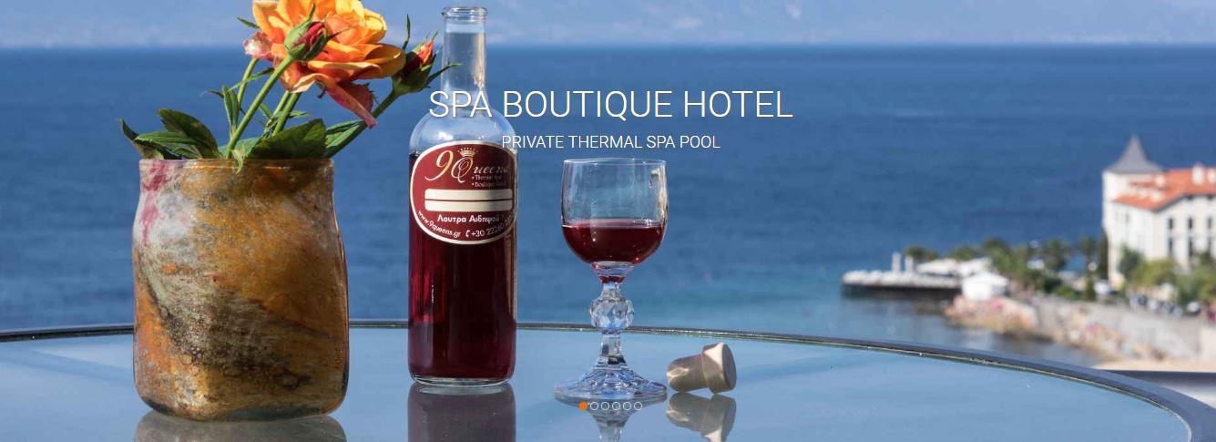 9 Queens Spa Boutique Hotel im Thermalkurort Edipsos auf der Insel Evia