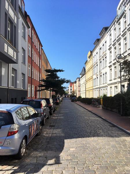 Stadtteil KTV - im Herzen Rostocks - sehr gut erreichbar