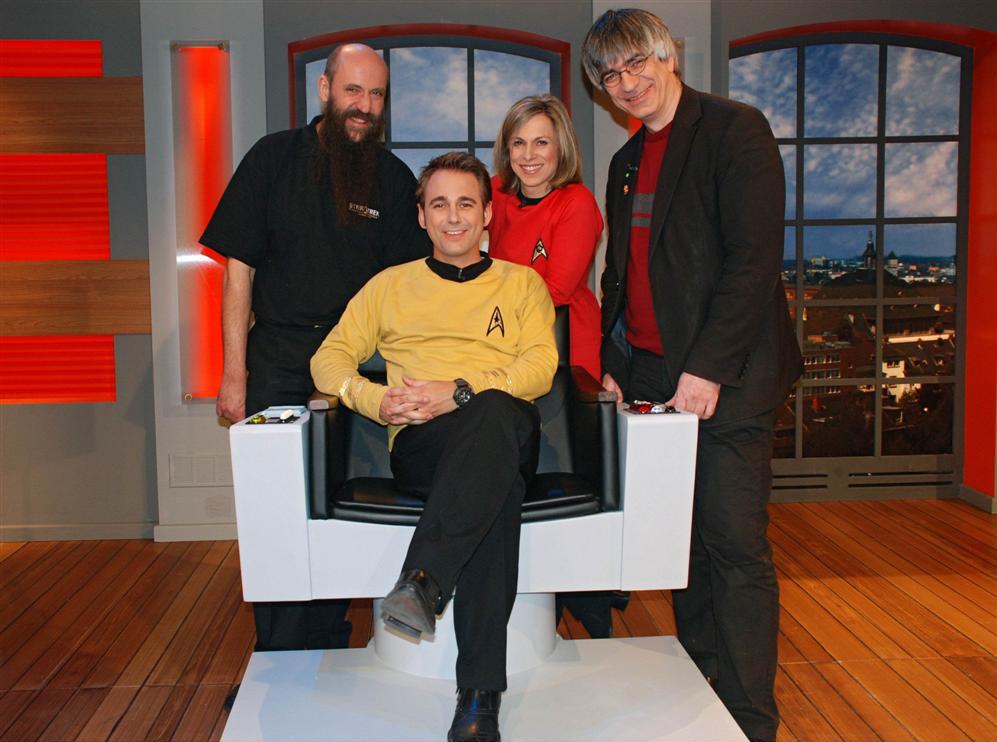 Die Physik von Star Trek. Gäste: Metin Tolan und Martin Netter