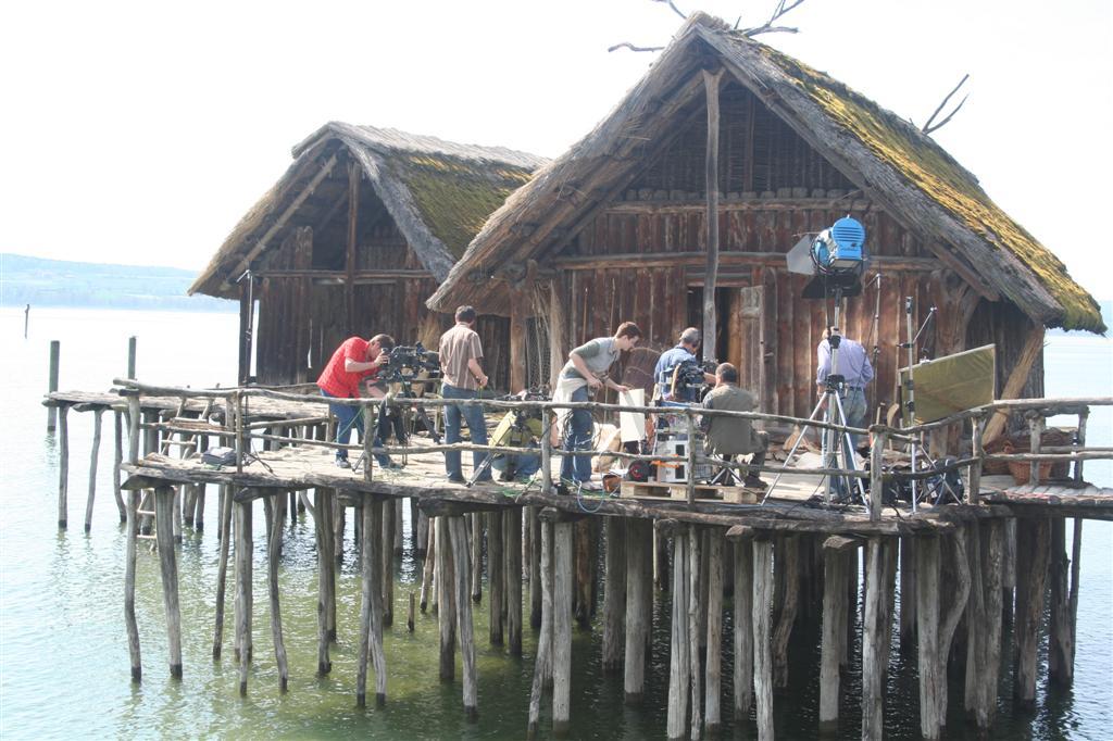 Außendreh Pfahlbautensiedlung Bodensee