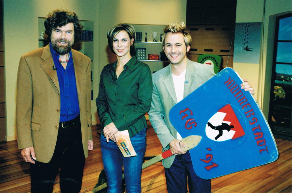 Die Alpen. Gast: Reinhold Messner