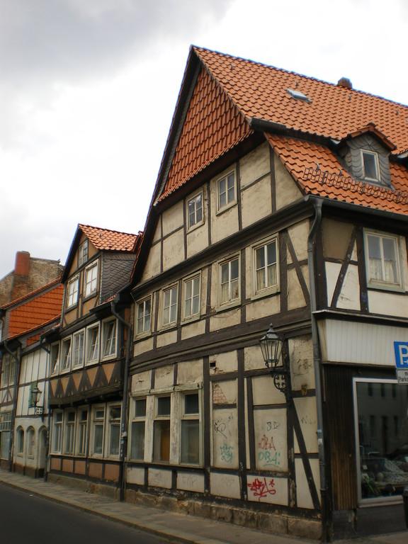 alte Häuserfront