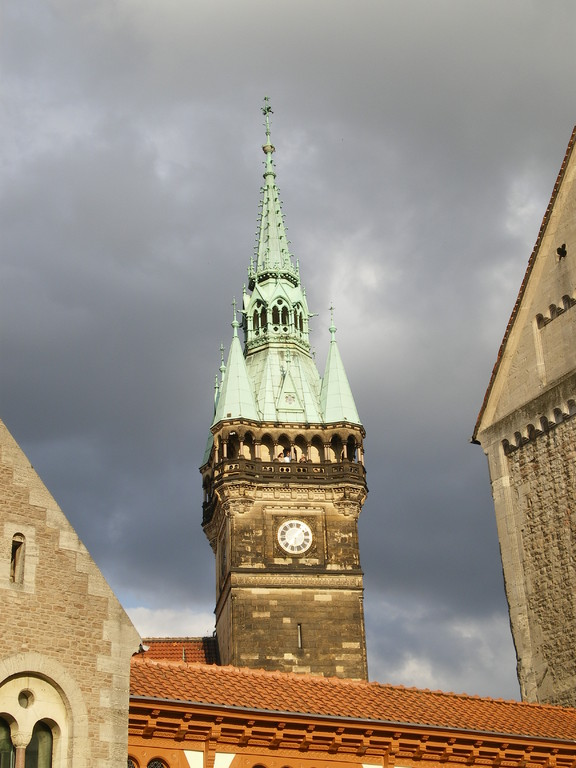 Turmspitze vom Rathaus