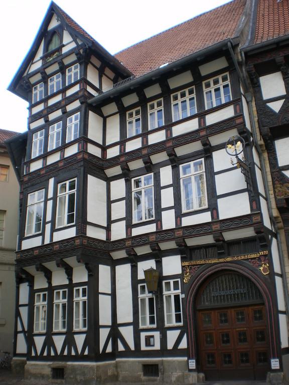 Fachwerkhaus am Burgplatz