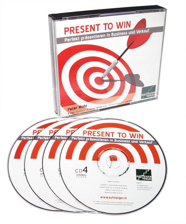 PETER MOHR - Present To Win (Hörbuch)