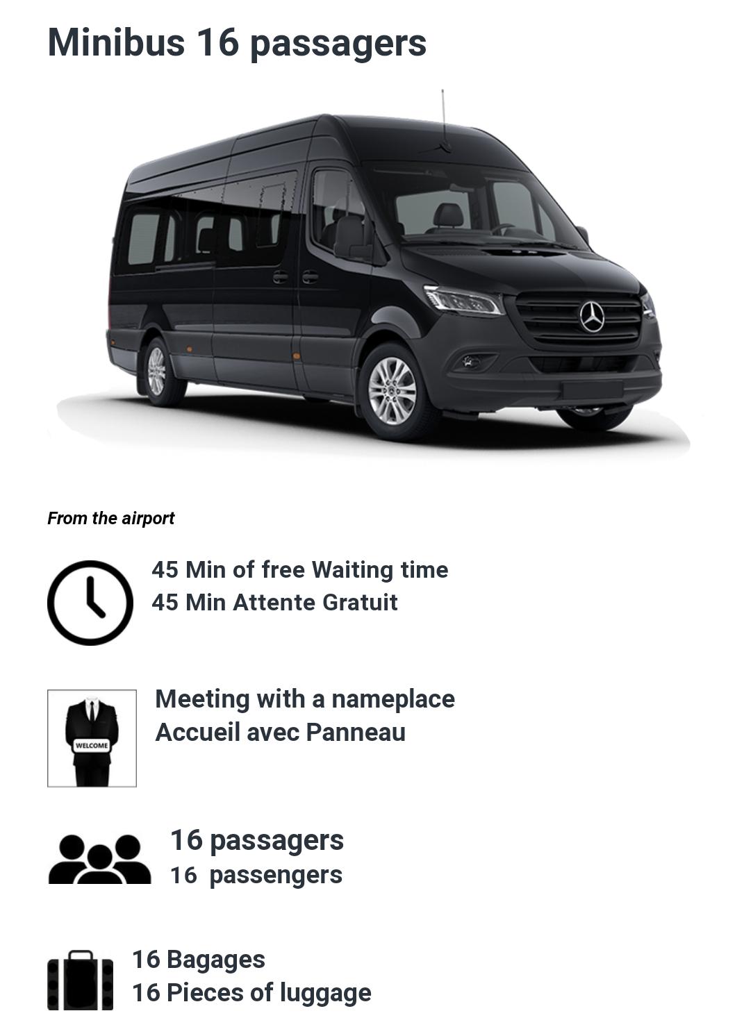16 Passenger minibus