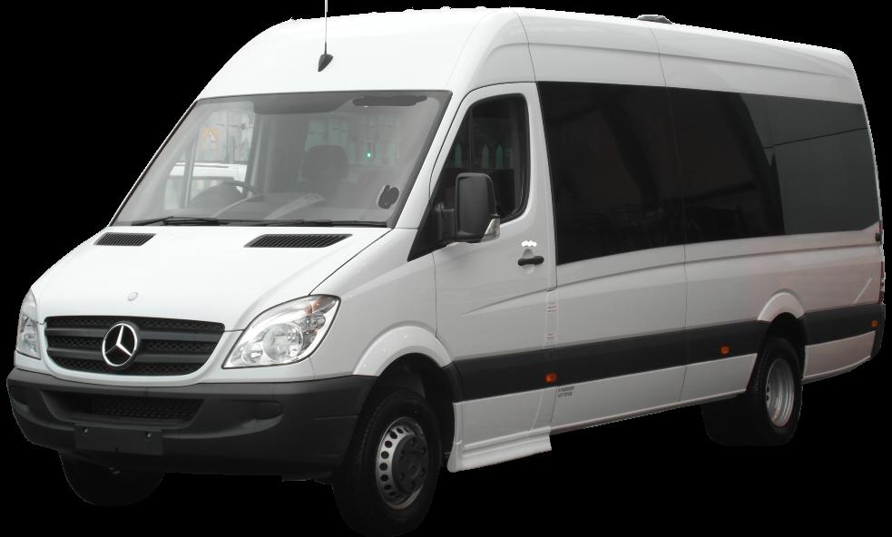 Van für 15 Passagiere