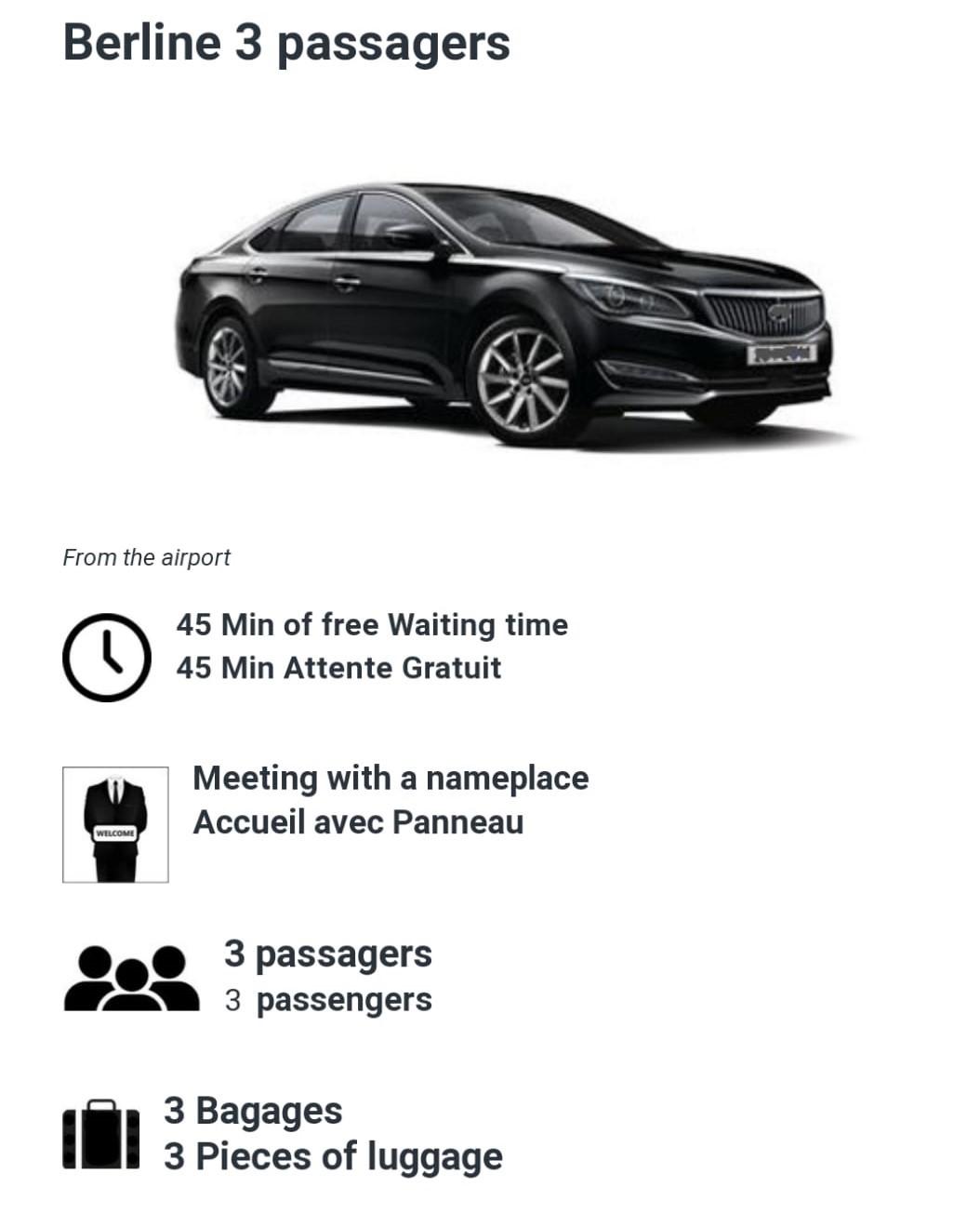 3 Passenger car