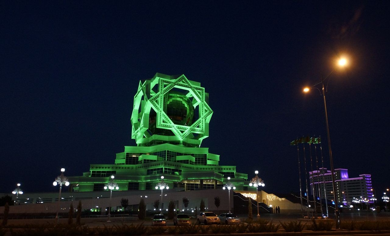 Ashgabat - wedding palace