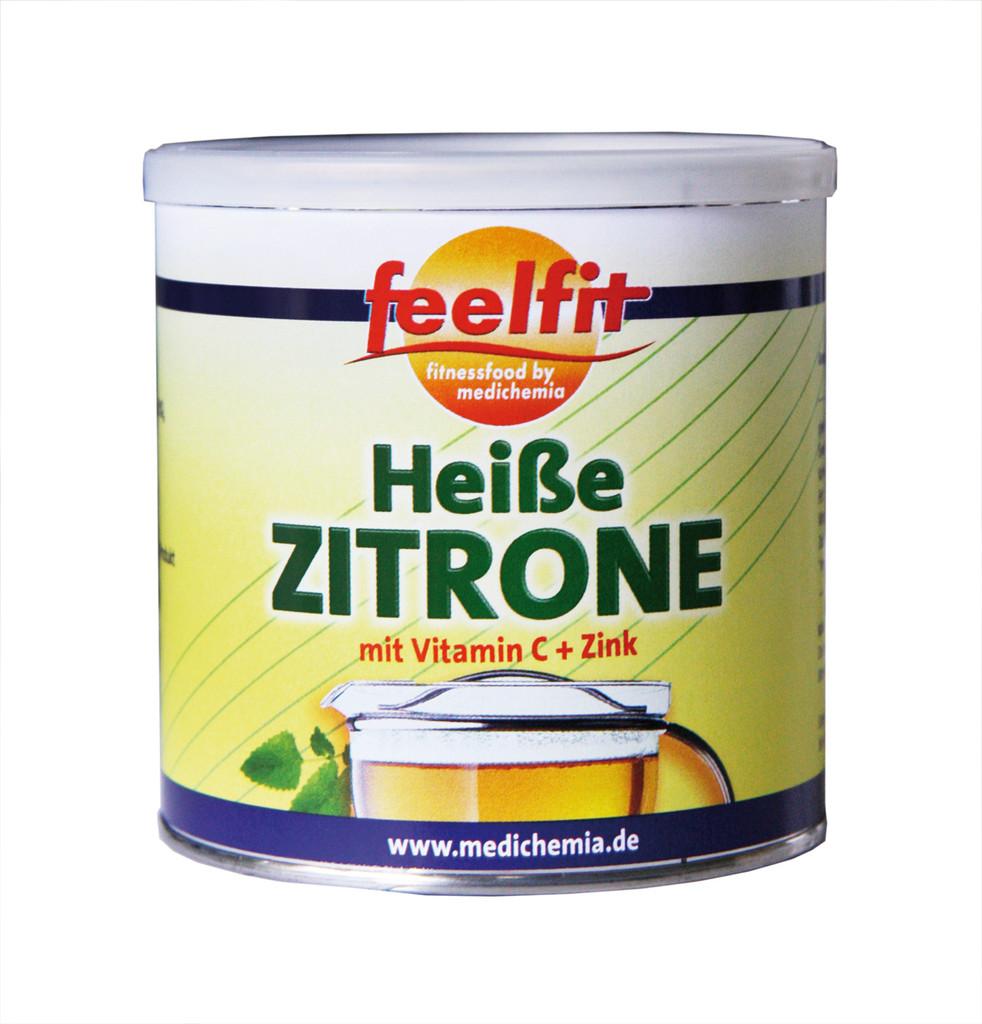 zitronengetr nk hei e zitrone mit vitamin c und zink. Black Bedroom Furniture Sets. Home Design Ideas