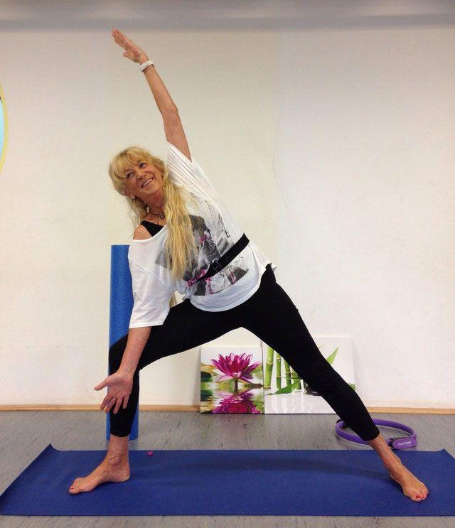 Online-Kurse Pilates und Yoga