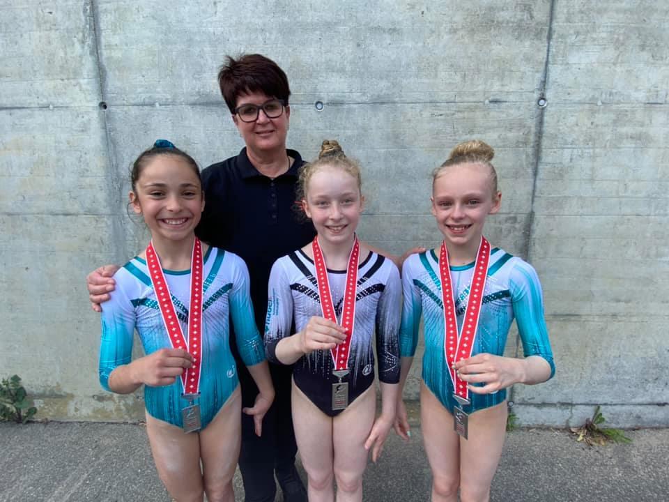 4 Medaillen für das TZFF an den Schweizermeisterschaften der Juniorinnen