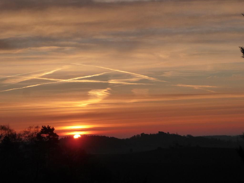 Sonnenaufgang am 21. März vom Thron aus