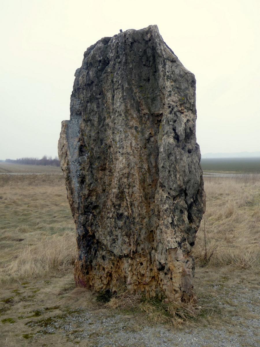Der Menhir von Derenburg
