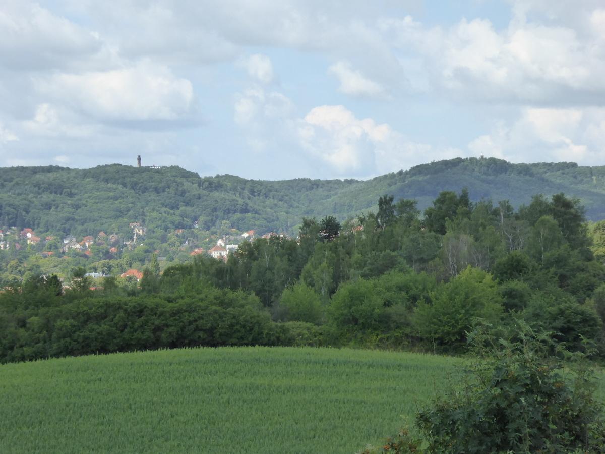 Blick zum Ziegenkopf und Eichberg