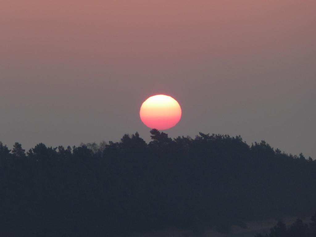 """Der Sonneaufgang über dem """"Kleinen Kamel"""""""