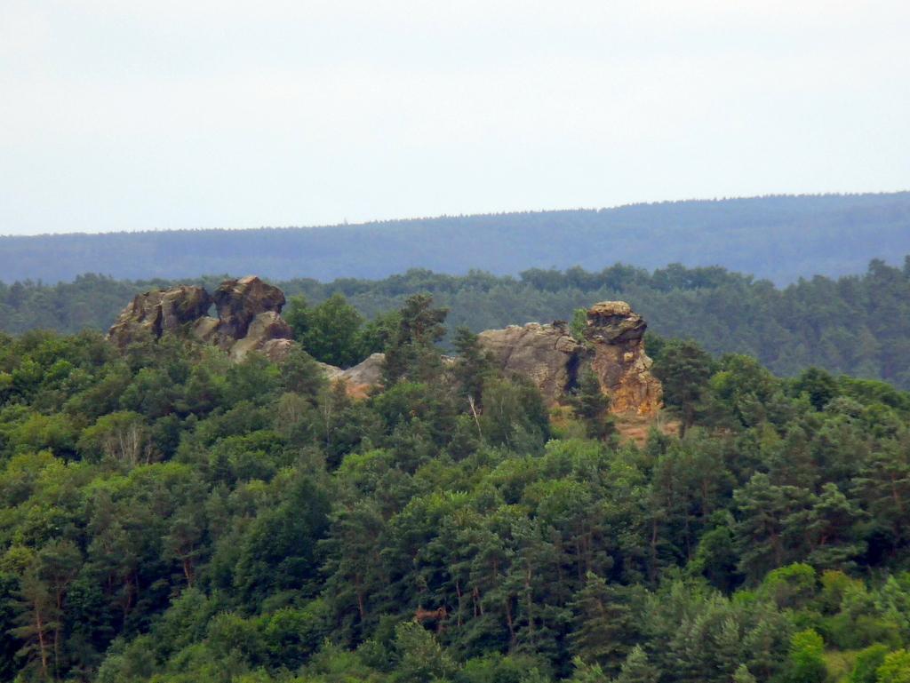 Blick von Norden (aus ca. 2 km Entfernung)