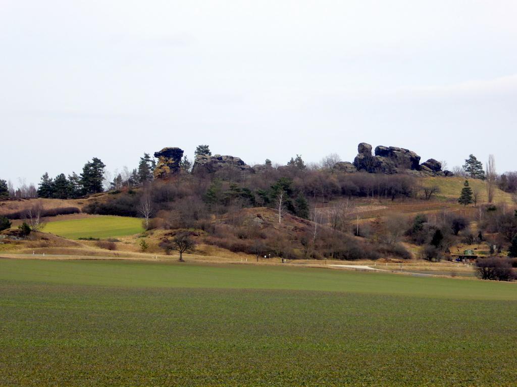 Ansicht von Süden, vom Thieberg aus