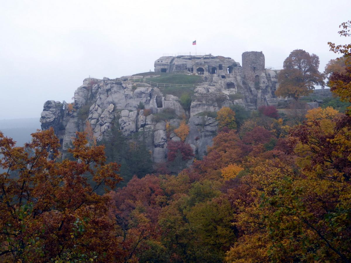 Die Burgruine Regenstein