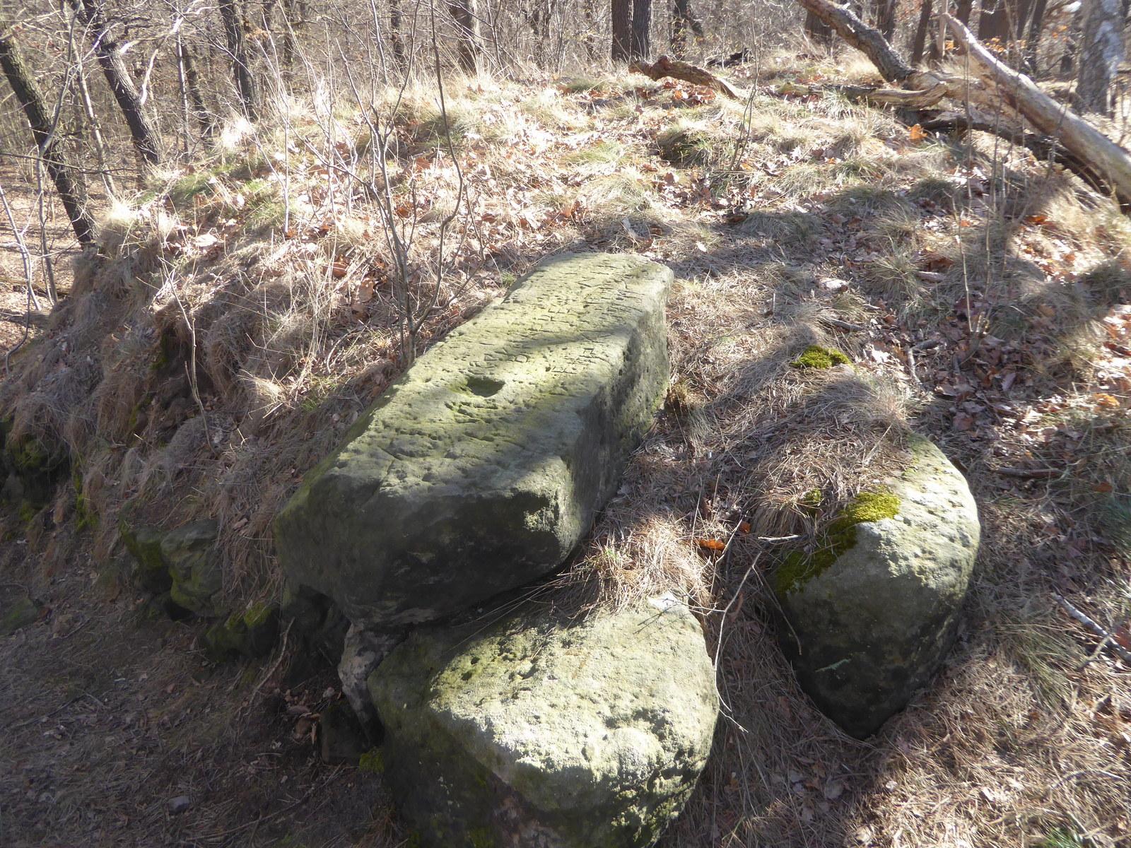Der Restfels im Steinholz (mit dem Namen Brockenblick)
