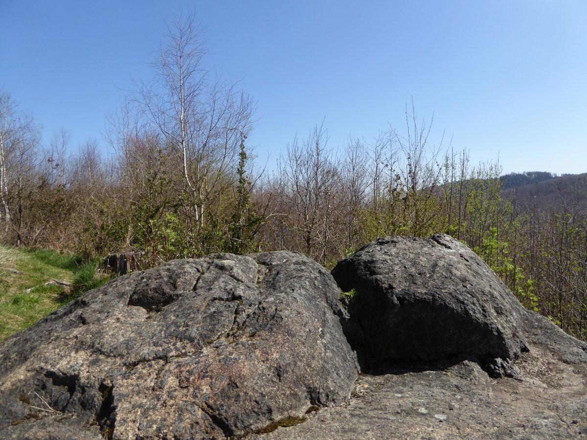 Der Wolfshäger Kalenderstein auf dem Sülteberg