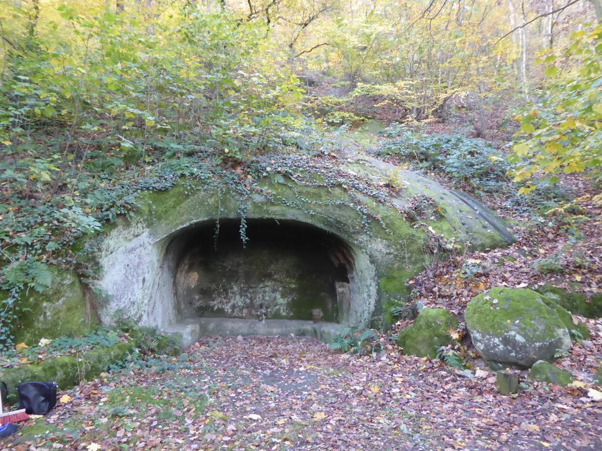 Die Felsengrotte am Heidelberg