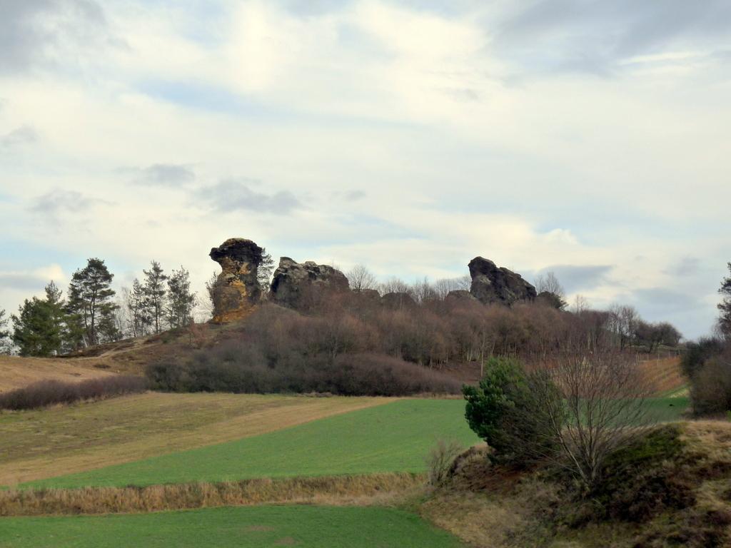 Panoramaansicht des Königsteines