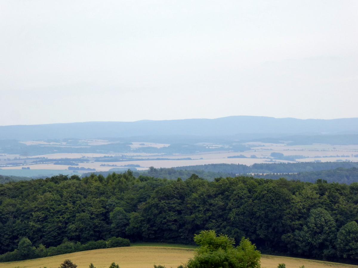 Das Panorama Richtung Harz