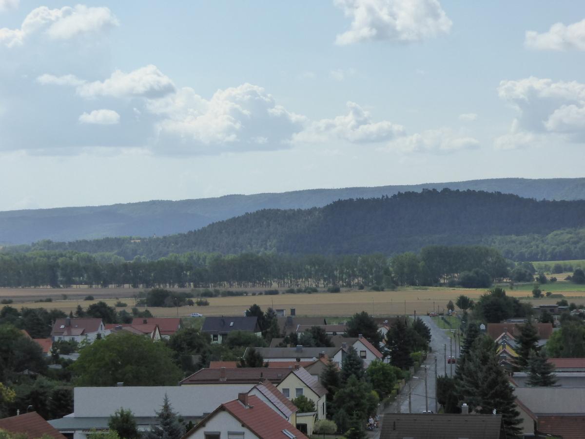 Die Sicht zum Hamburger Wappen
