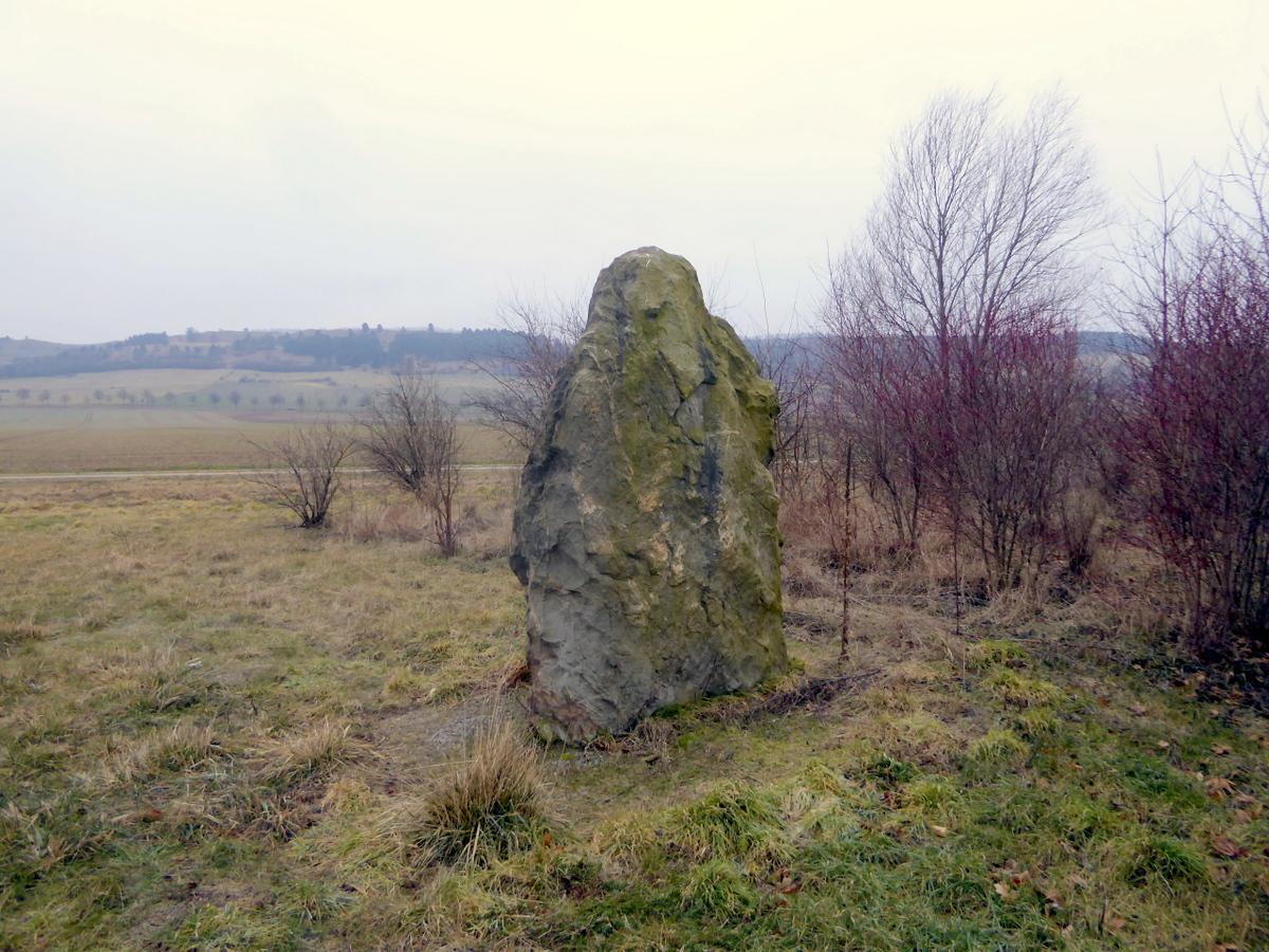 Der Menhir von Heimburg