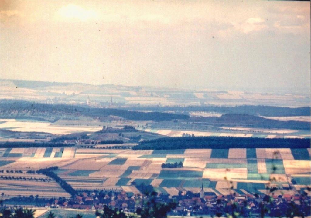 Historisches Foto nach Norden (1954, Walter Körner)