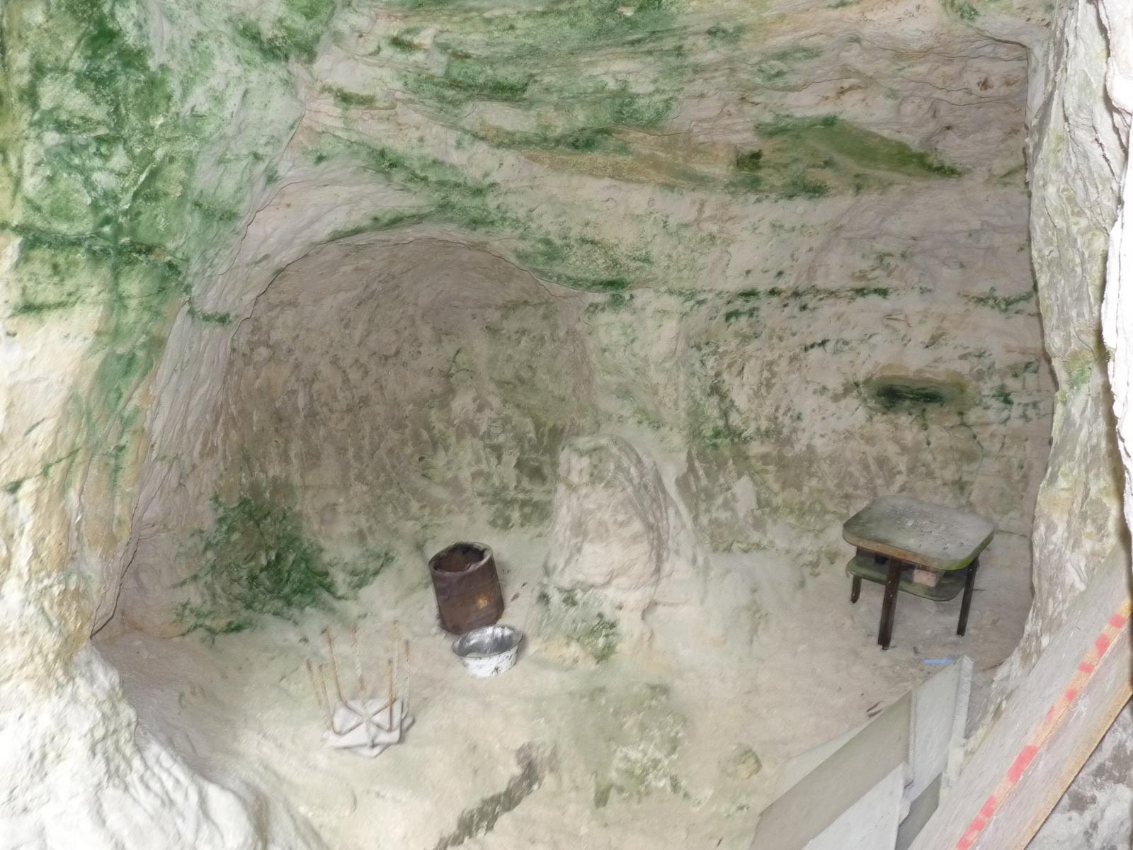 Vielleicht Reste einer Höhlenparty?