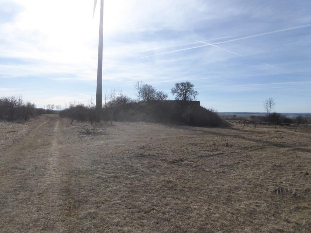 Die Fundamente der Radaranlagen