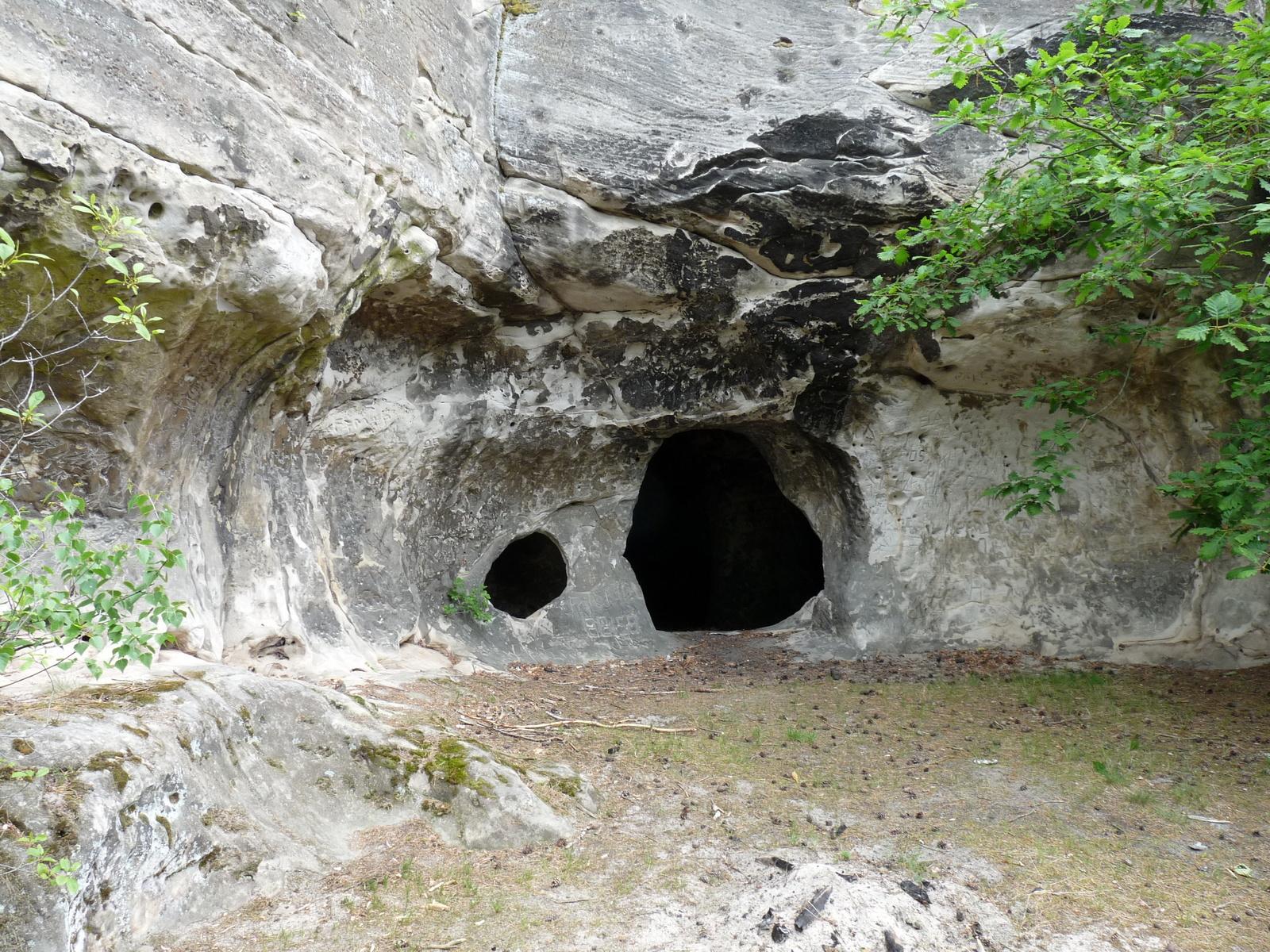Die Wohnhöhle im Weinberg