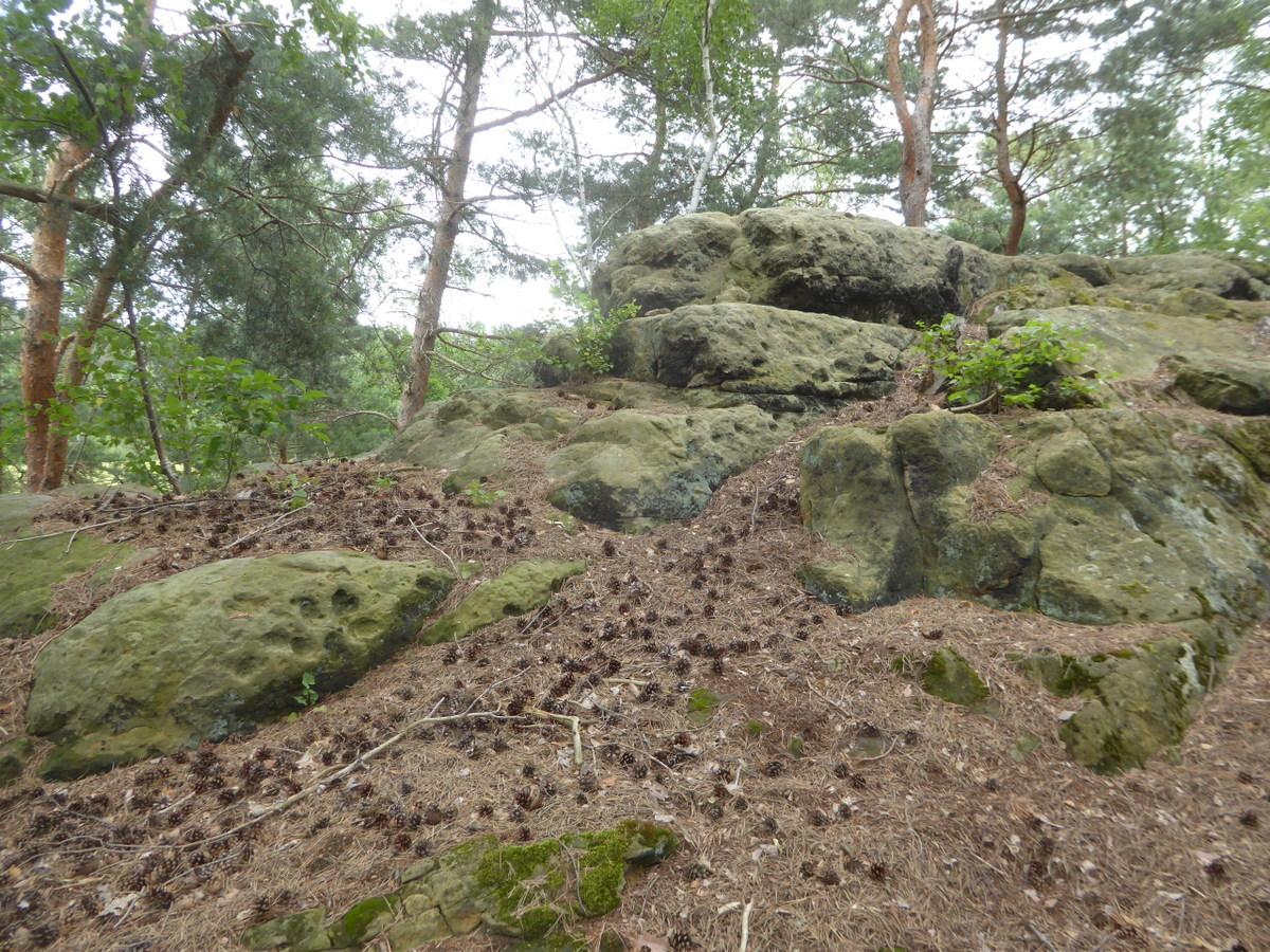 Der zweite Felsteil