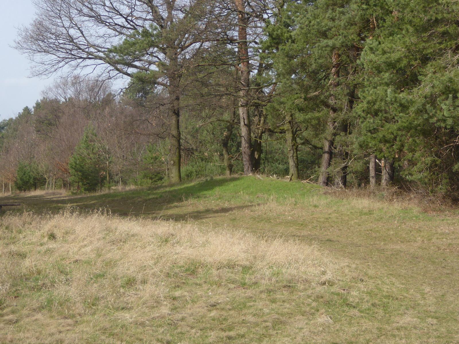 Das kleine Hügelgrab
