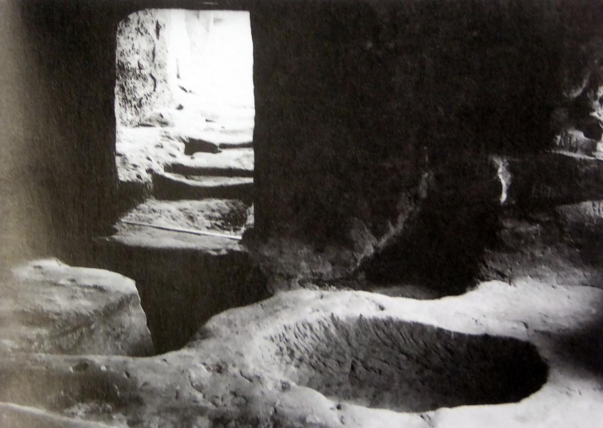 historische Aufnahme Teufelsloch