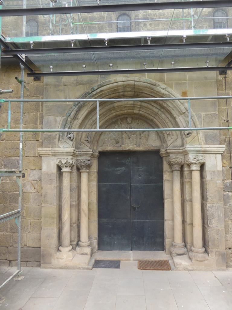 Das Portal vom Münzenberg