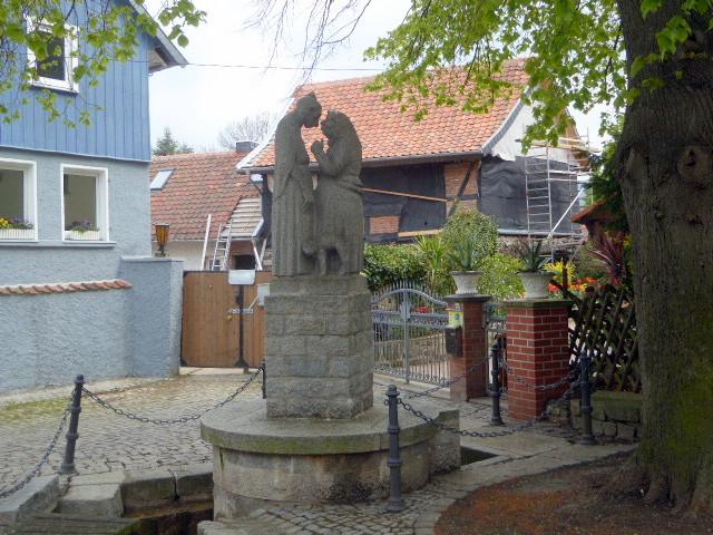Der Weiberborn neben dem Wendhusenkloster