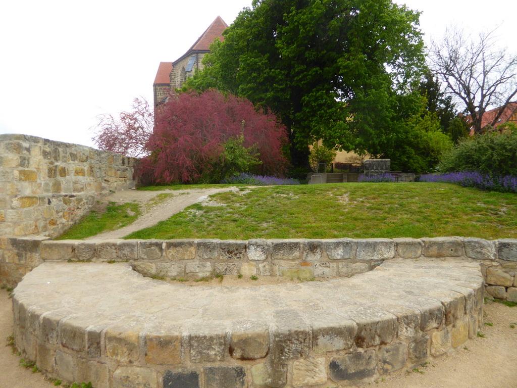 Die Fundamentreste der Michaelskapelle