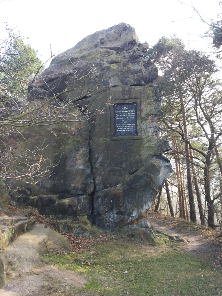 Der Löbbeckefelsen, Blankenburg