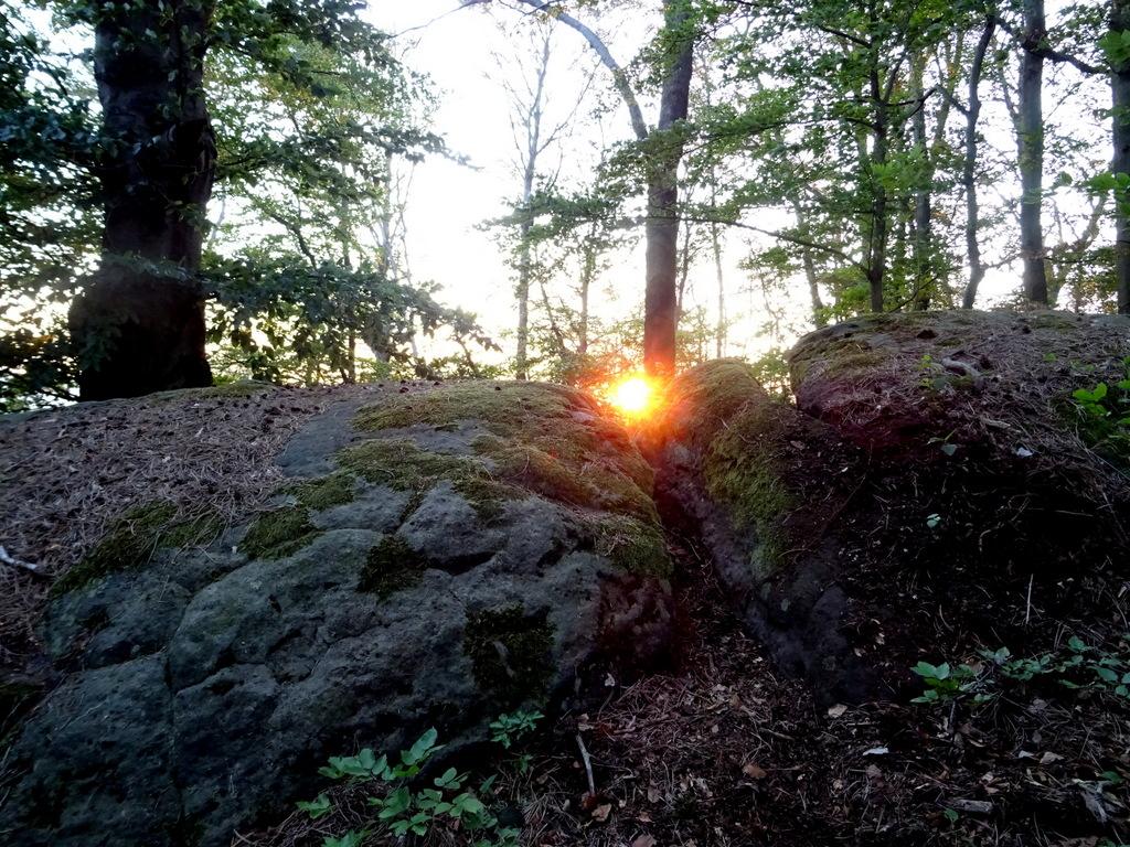 """Der Sonnenaufgang im """"Sonnentor"""""""