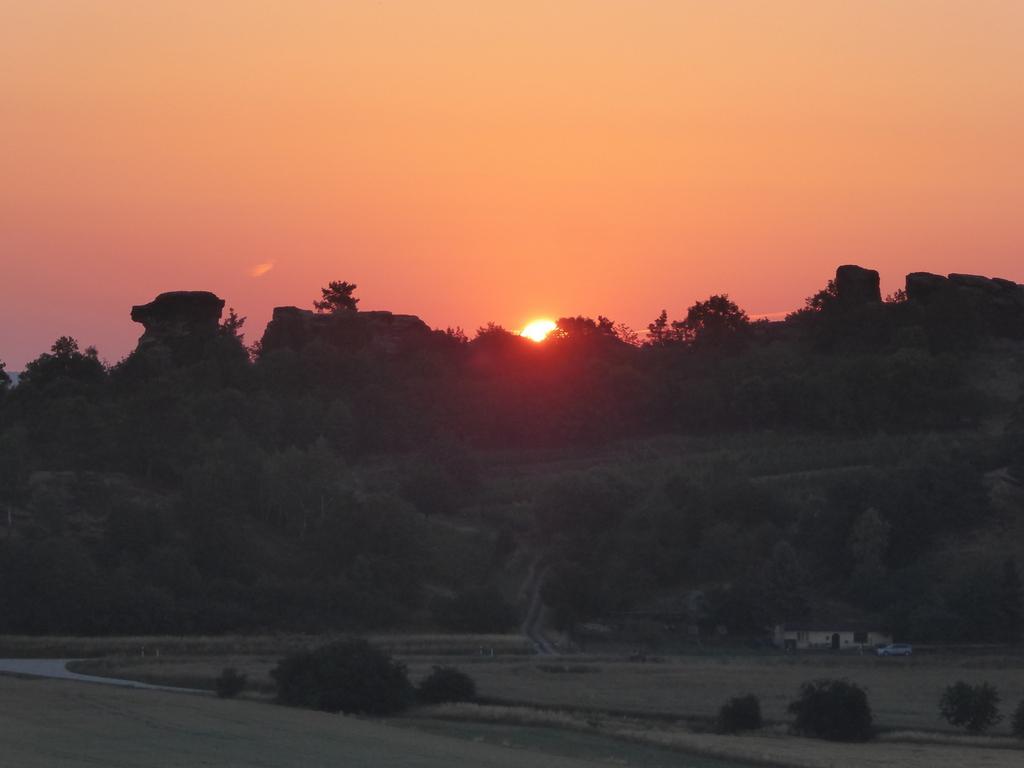 Sonnenaufgang vom Lästerberg am 21.06.